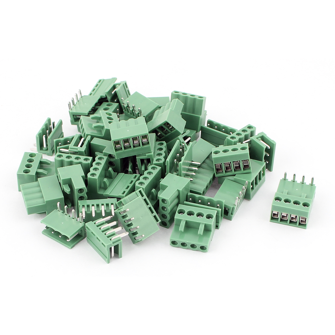 24 Pair 3.96mm Pitch 4way/pin Screw PCB Pluggable Terminal Block Connector