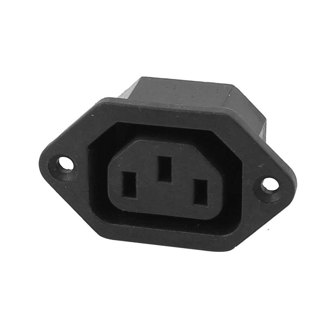 AC 250V 10A IEC 320 C13 3 Terminals Terminal Male Panel Mount Connector Socket