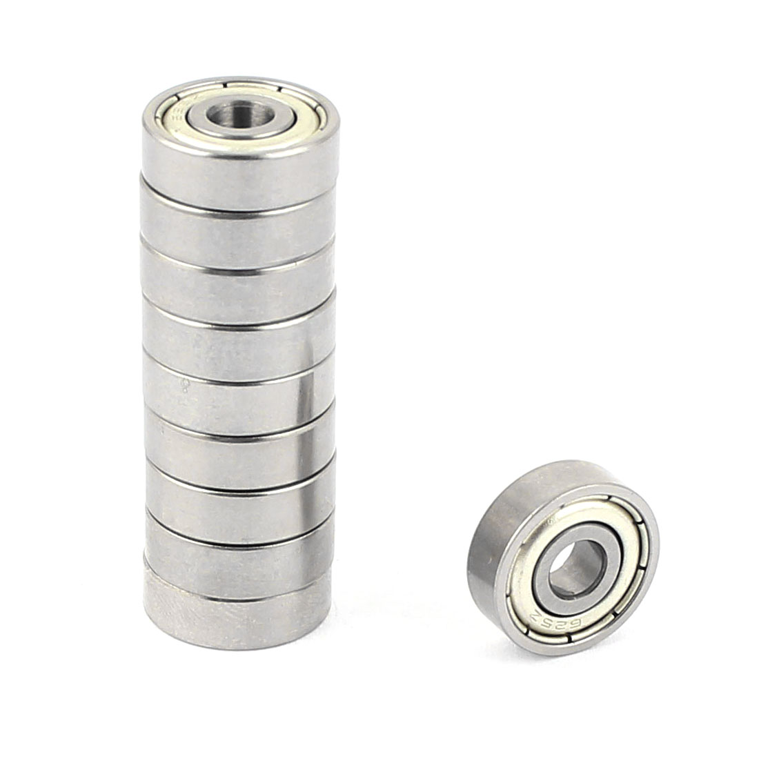 10 Pcs 5mm x 16mm x 5.5mm Metal Sealed Shielded Deep Groove Ball Bearing