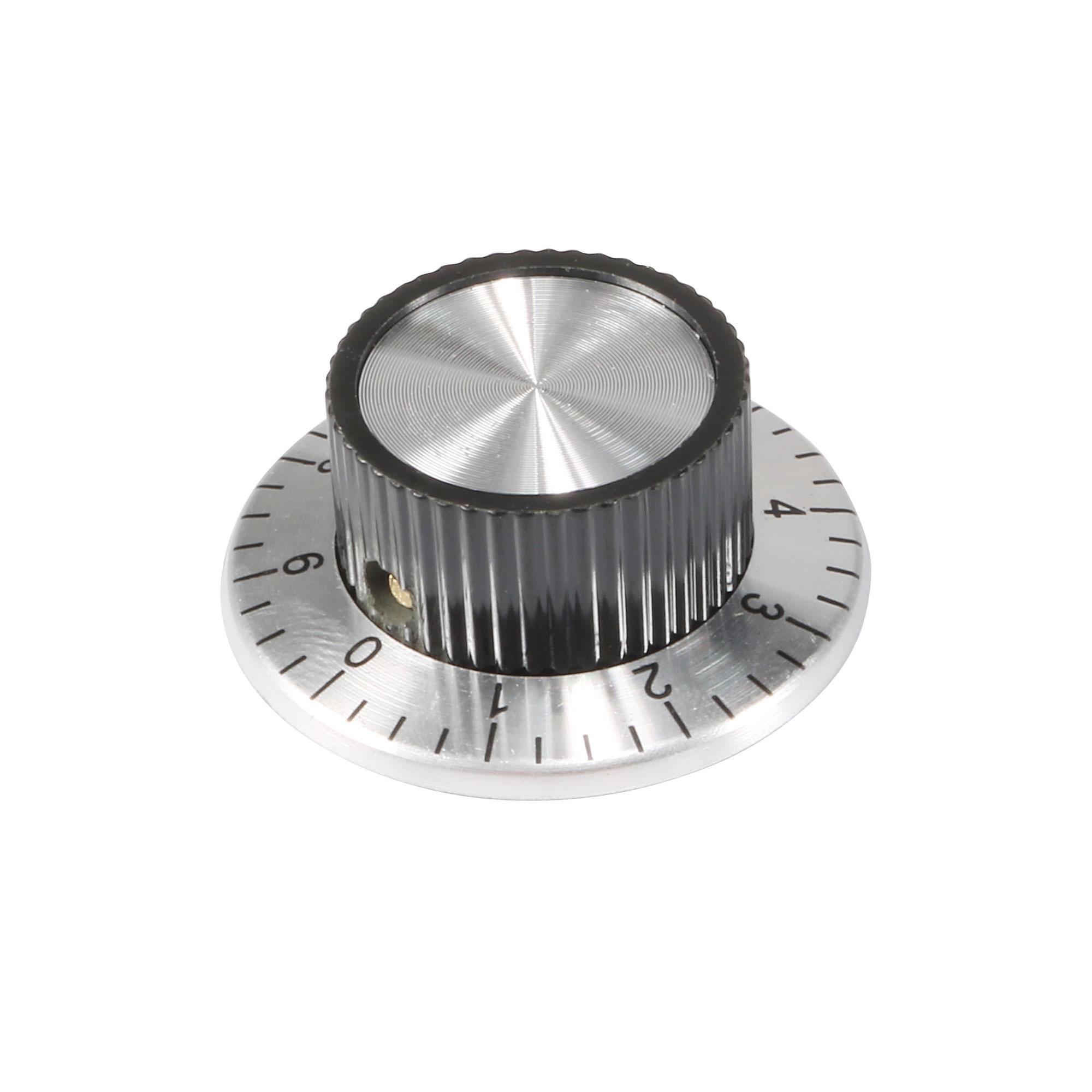 36mmx15mm Aluminum Potentiometer Control Volume Rotary Digital Knob Cap