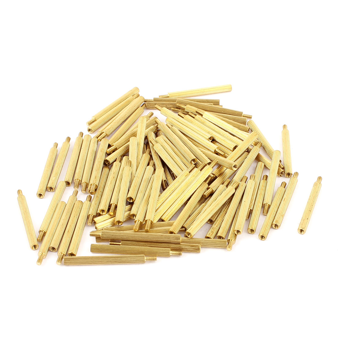 100Pcs M2 Male Female Brass PCB Standoffs Hexagonal Spacers