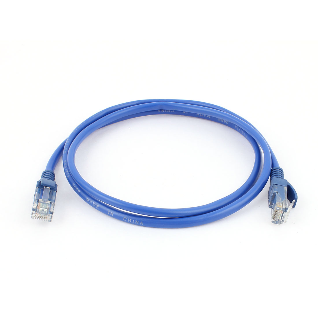 A100 8P8C 1M Male Ethernet LAN Network Patch Connector Cable Cord Blue