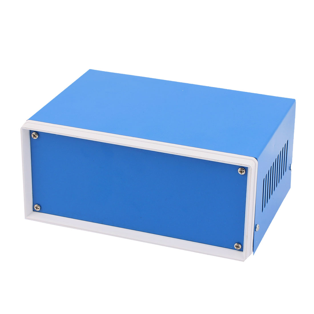 170mmx130mmx75mm Blue Metal Enclosure Case DIY Electronic Wiring Project Box