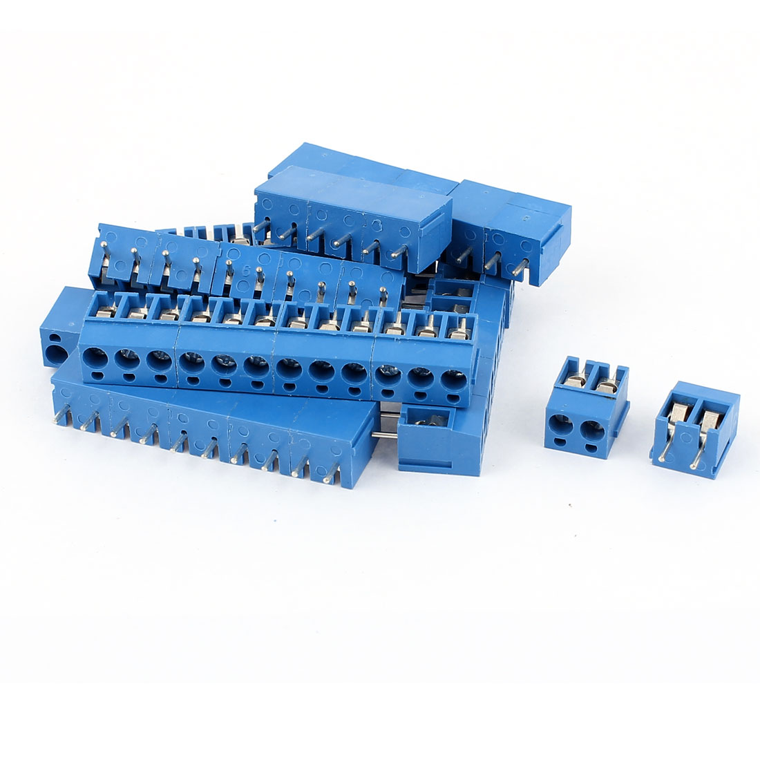 39Pcs 5.08mm Pitch 2/3Pin PCB Mount Power Screw Terminal Block Connector