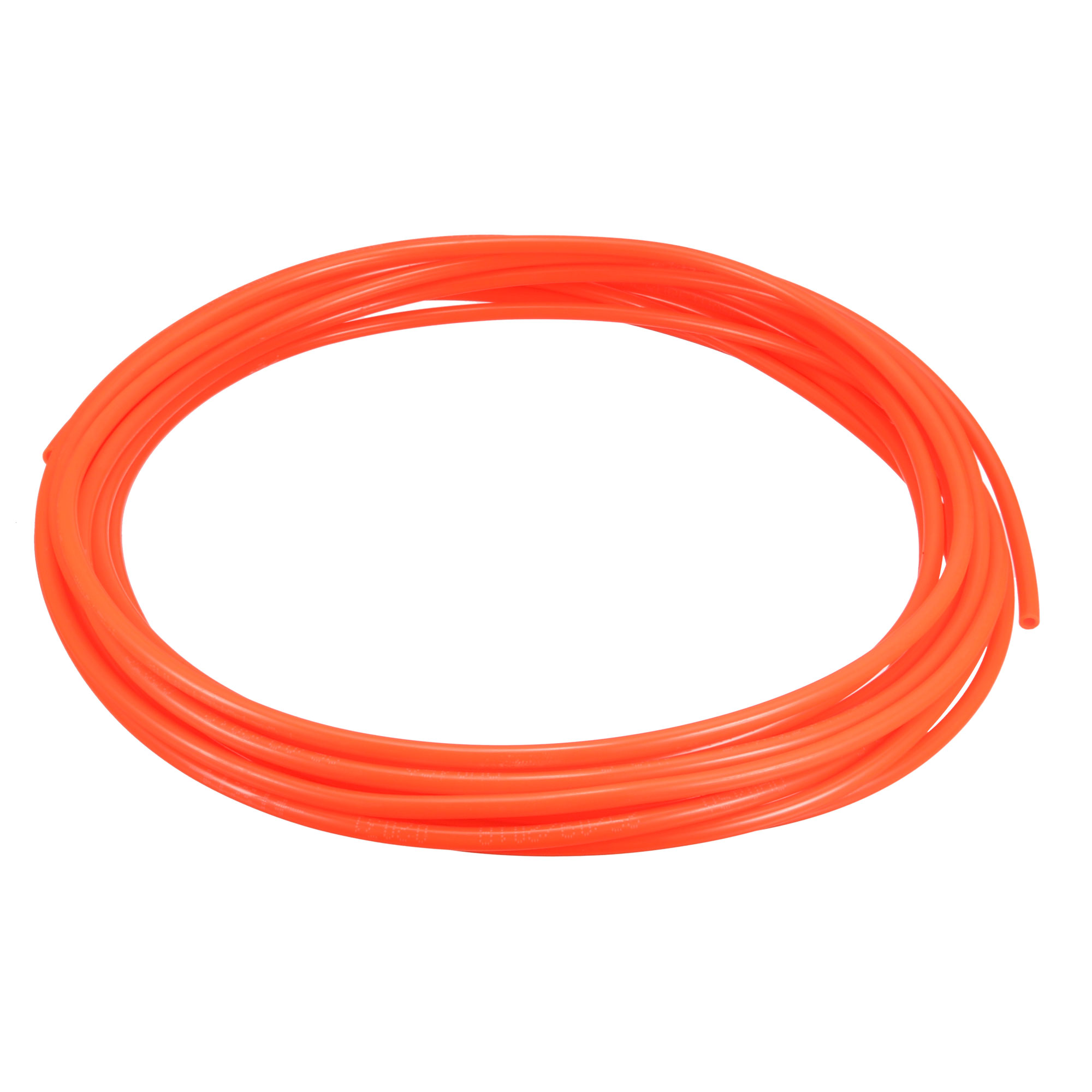 4mm OD x 2.5mm ID PU Pneumatic Air Tubing Pipe Hose 6M 20ft Red