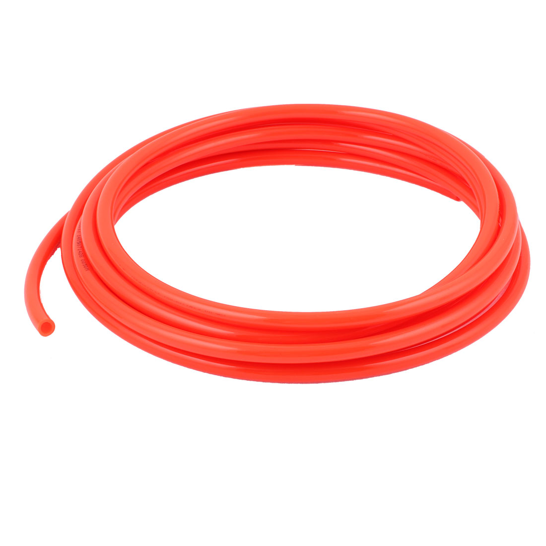 10mm OD x 6.5mm ID PU Pneumatic Air Tubing Pipe Hose 6 Meters Red