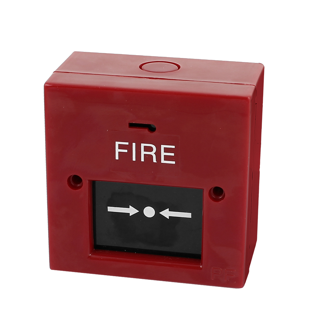 DC 24V Square Break Glass Manual Call Points Fire Alarm Pull Station