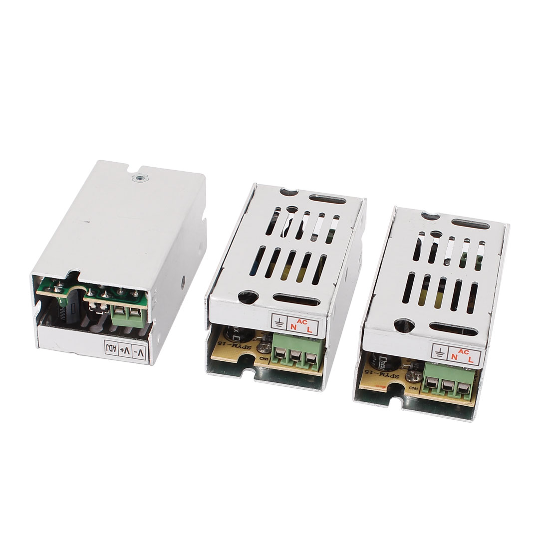 3Pcs AC 110V/220V DC 5V 2A Single Output Regulated Switching Power Supply