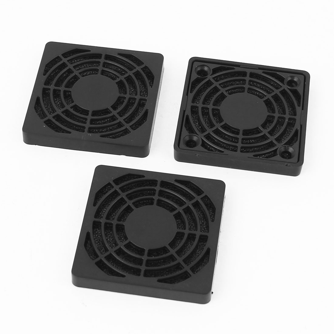 3Pcs 54mm Plastic Dustproof PC Computer Fan Dust Filter Guard