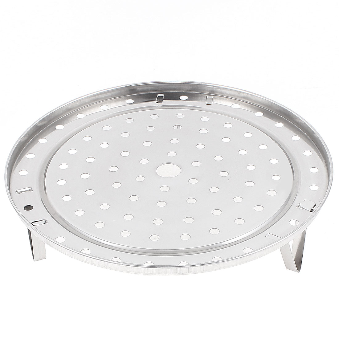 Round Stainless Steel Food Cooking Steamer Rack Cookware 9.4 Inch Dia