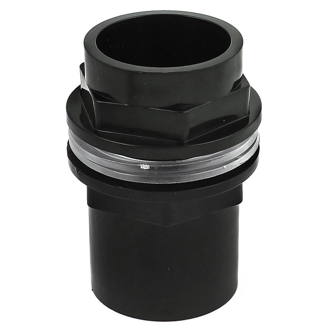 40mm Male Thread Plastic Straight Quick Connector Coupling Pipe Fitting