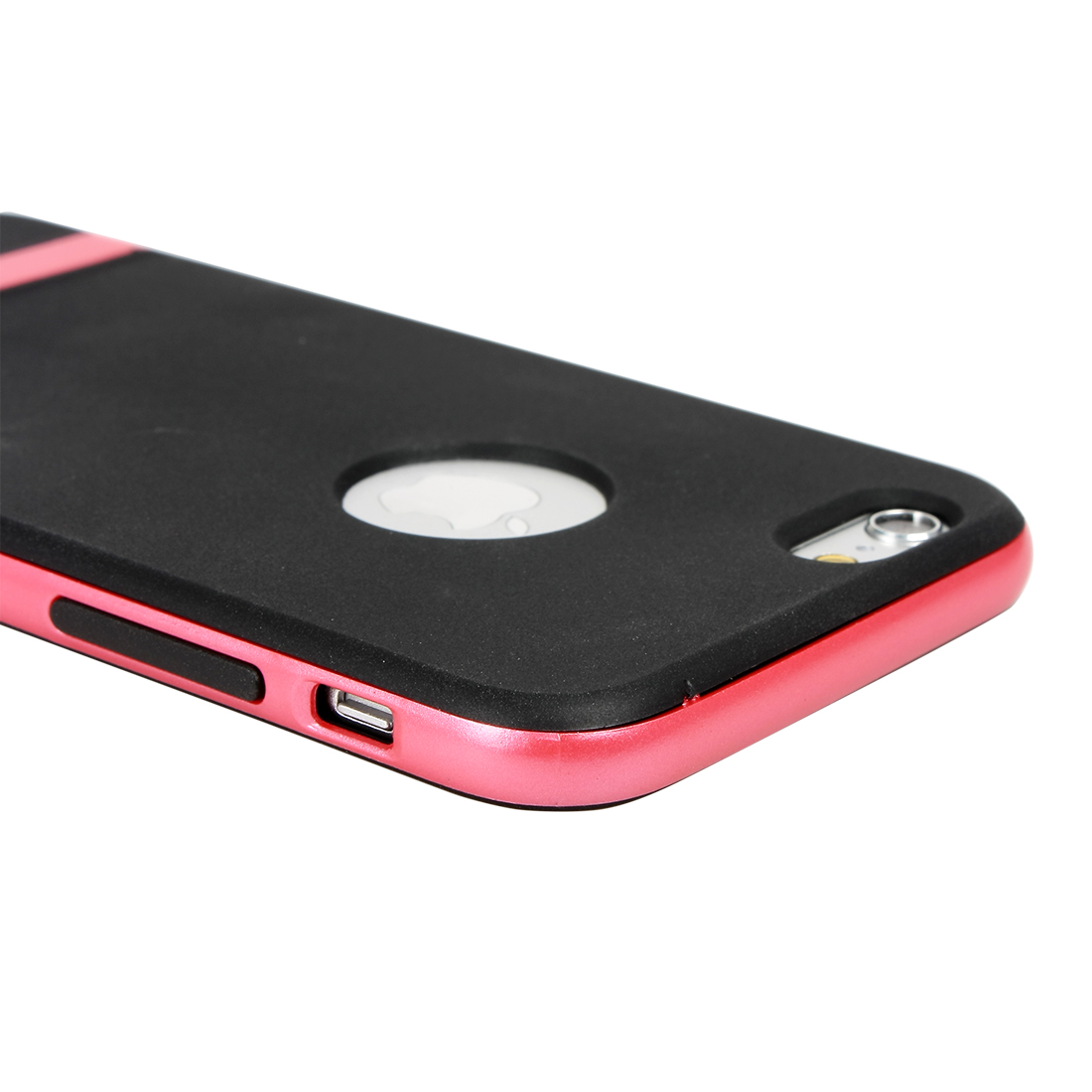 Pink Slim Hybrid Shockproof Hard Bumper Soft Case Cover For iPhone 6