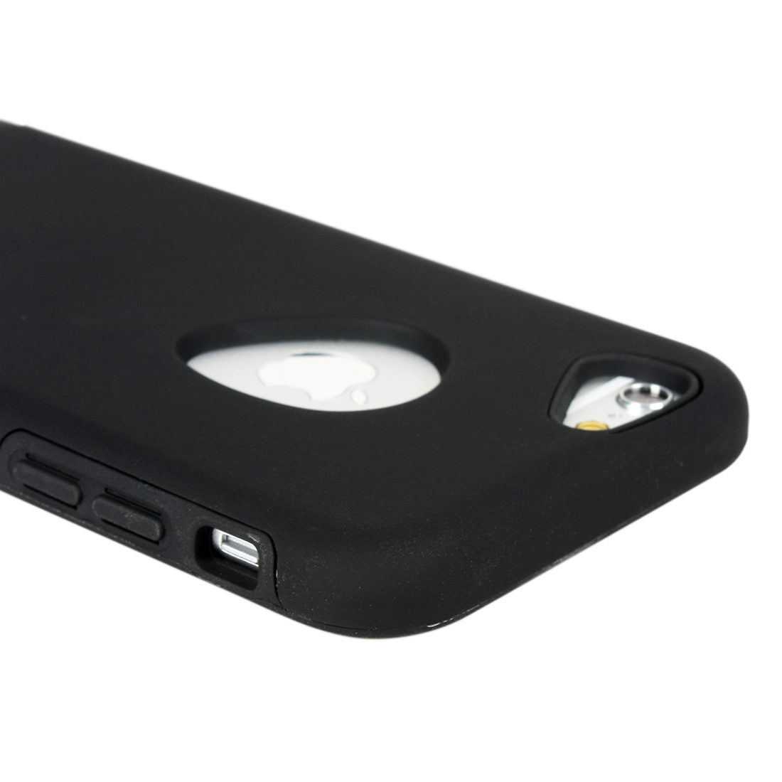 for Iphone 6 Case Combo Black Hybrid Shockproof Hard Cover