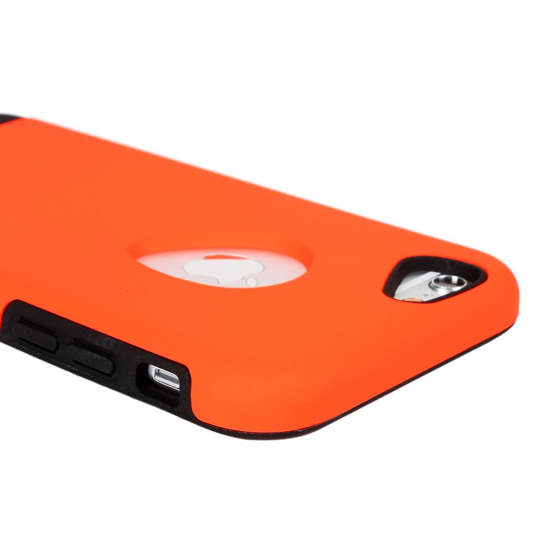 for Iphone 6 Case Combo Hybrid Shockproof Hard Cover Orange