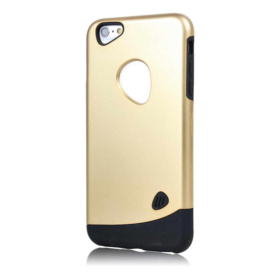 for iphone 6 Plus Case Combo Hybrid Shockproof Hard Cover champaign gold