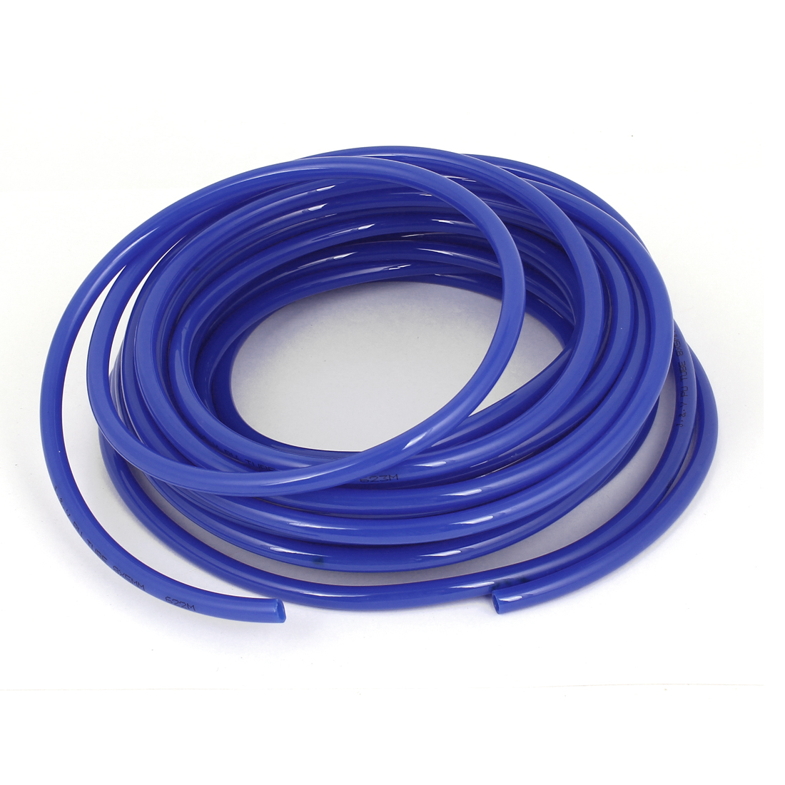 PU Flexible Air Tubing Pneumatic Pipe Tube Hose Blue 8x5mm 1.5mm Thickness 12M