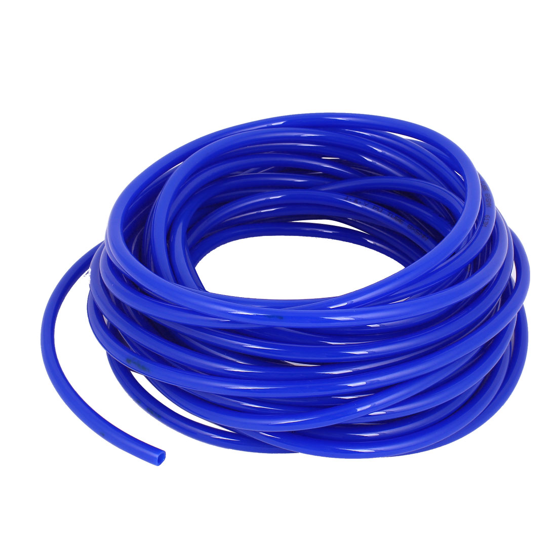 PU Flexible Air Tubing Pneumatic Pipe Tube Hose Blue 8x5mm 1.5mm Thickness 16M