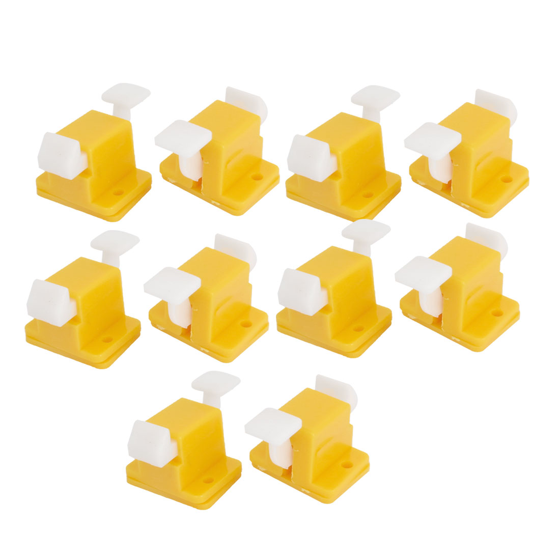 10PCS Plastic Test Fixture Jig Locks for PCB Board Soldering Wire Wrapping