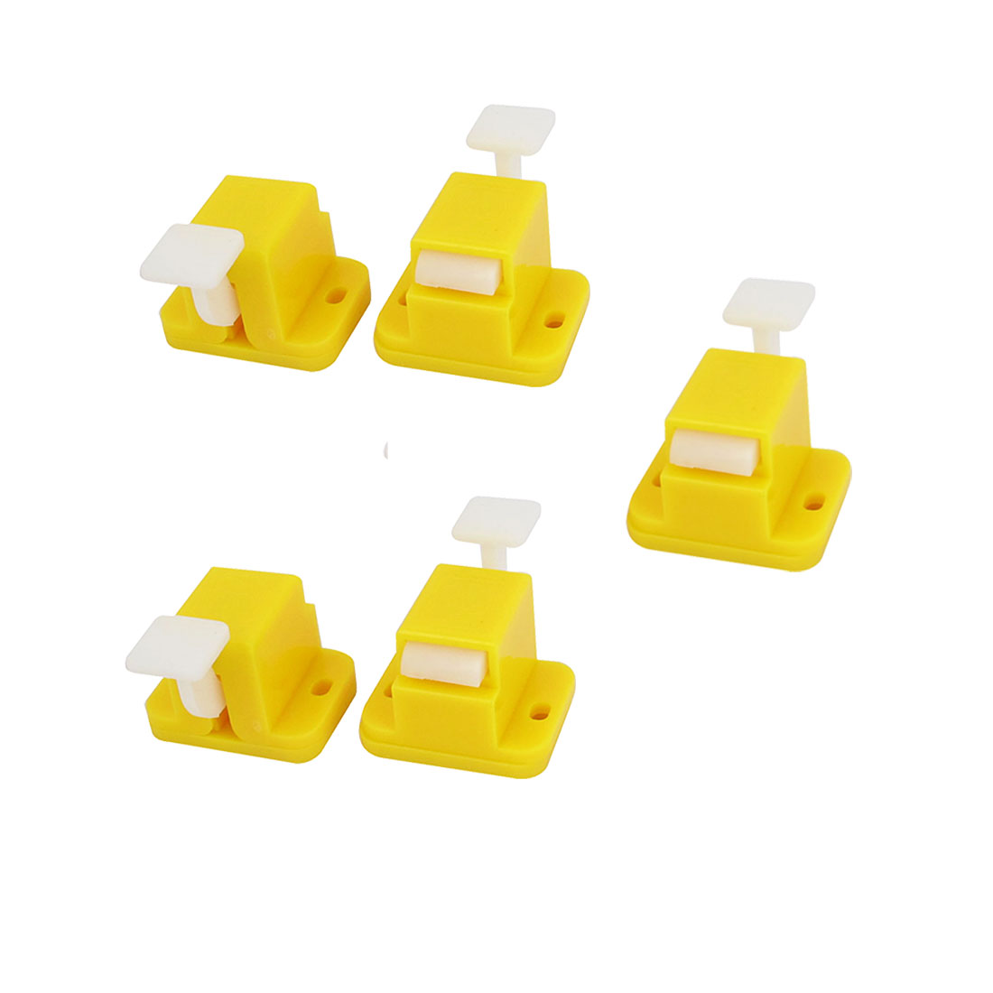 5 Pcs Plastic Prototype Test Fixture Jig Yellow for PCB Board DIY