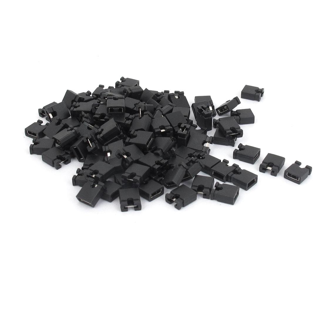 120 Pcs 2.54mm Standard PCB Shunts Short Mini Jumper Cap Connector
