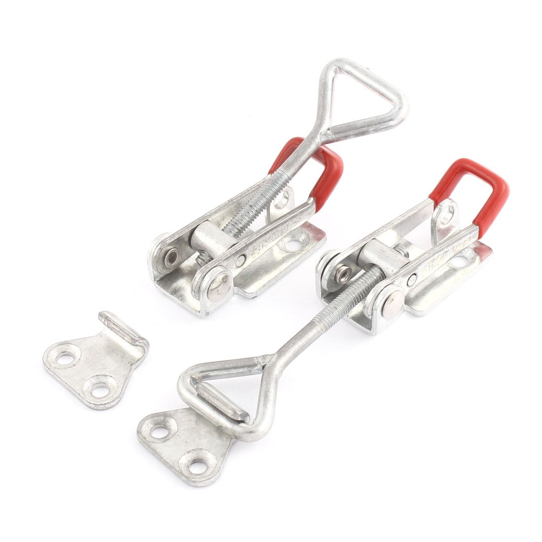 H-4002 180Kg 397 Lbs Holding Capacity Quickly Holding Push Pull Metal Toggle Clamp 2 Pcs