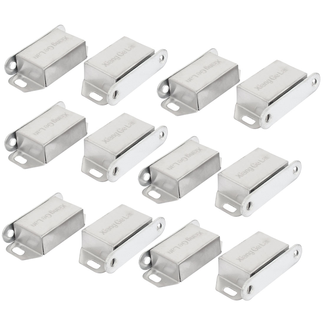 12pcs Stainless Steel Door Cabinet Wardrobe Magnetic Catch Stopper Holder Latch