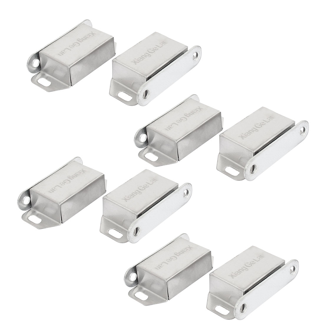 8pcs Stainless Steel Door Cabinet Wardrobe Magnetic Catch Stopper Holder Latch