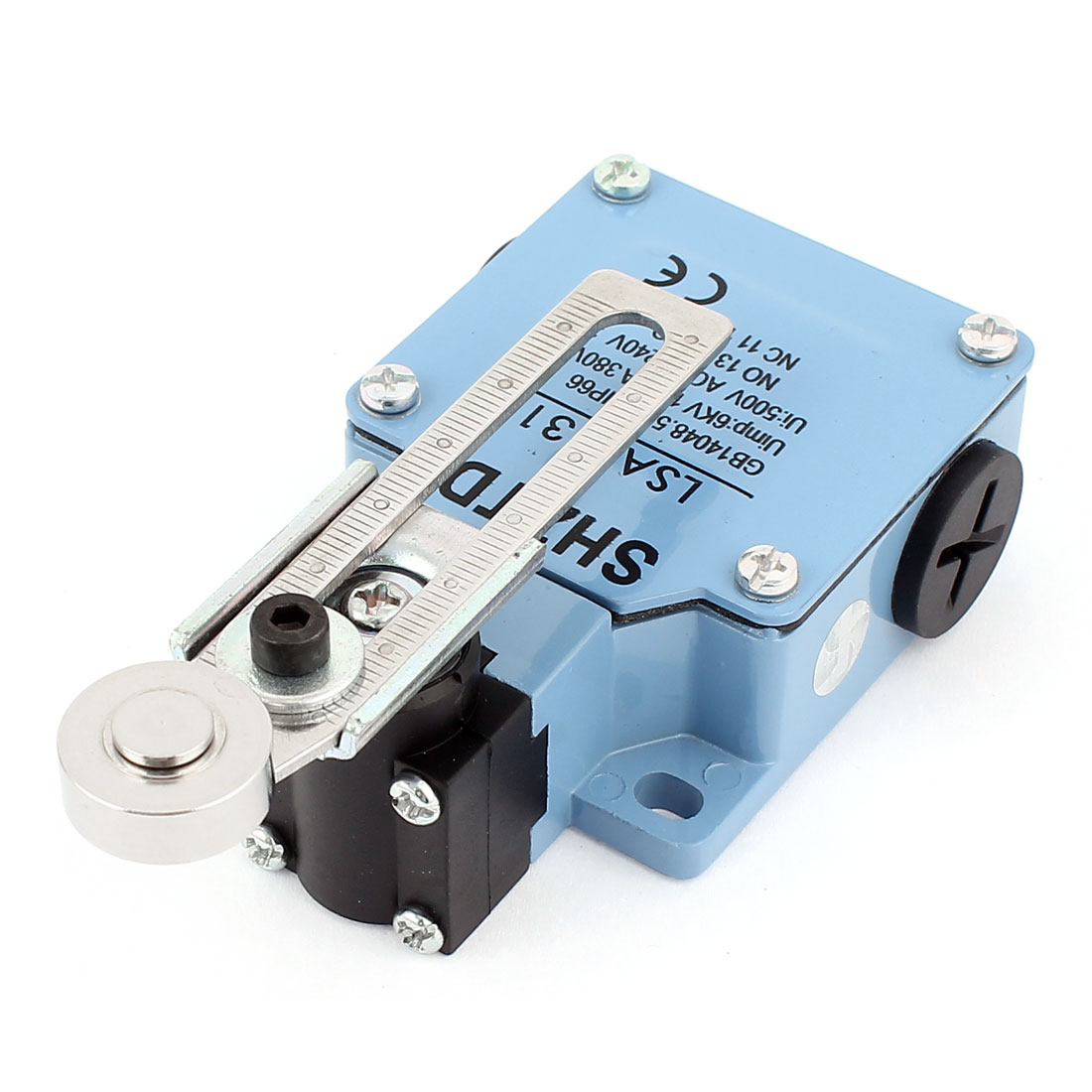 LSA-031 Momentary 1NO+1NC Adjustable Roller Arm Limit Switch for CNC Mill Plasma