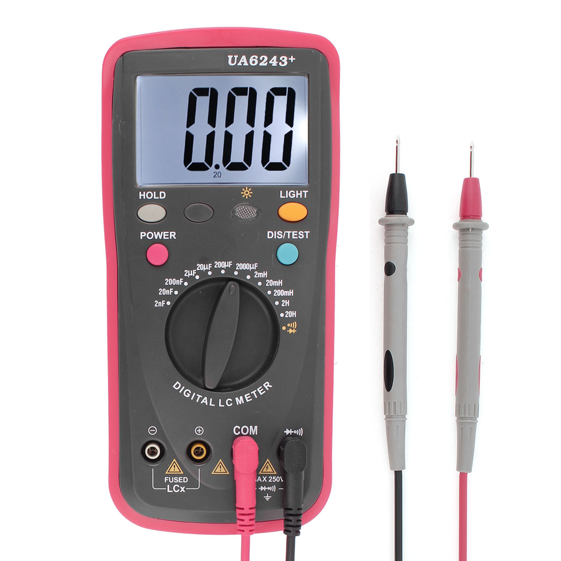 LCD Inductor Inductance Capacitance Tester Digital LC Meter Multimeter