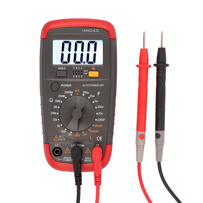 Digital Multimeter DMM 18 Range Pro LCR Tester Resistance Capacitance Inductance