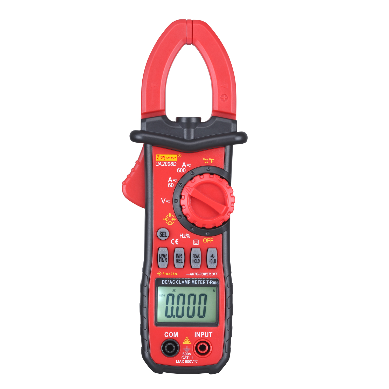 AC/DC LCD Multimeter Voltmeter Ammeter Ohmmeter Tester Digital Clamp Meter