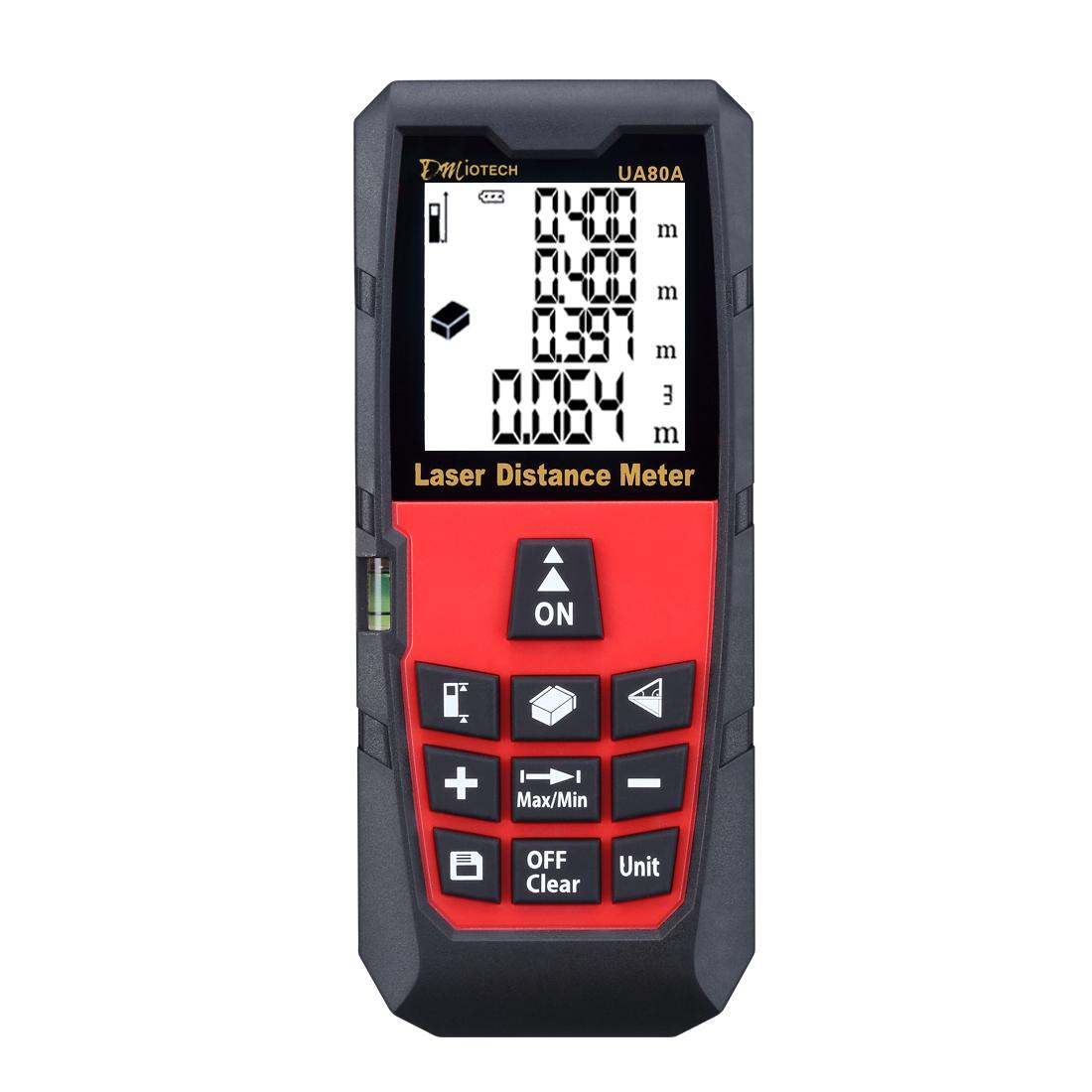 80m/262ft Mini Digital Distance Meter Rangefinder Measure Tape Diastimeter