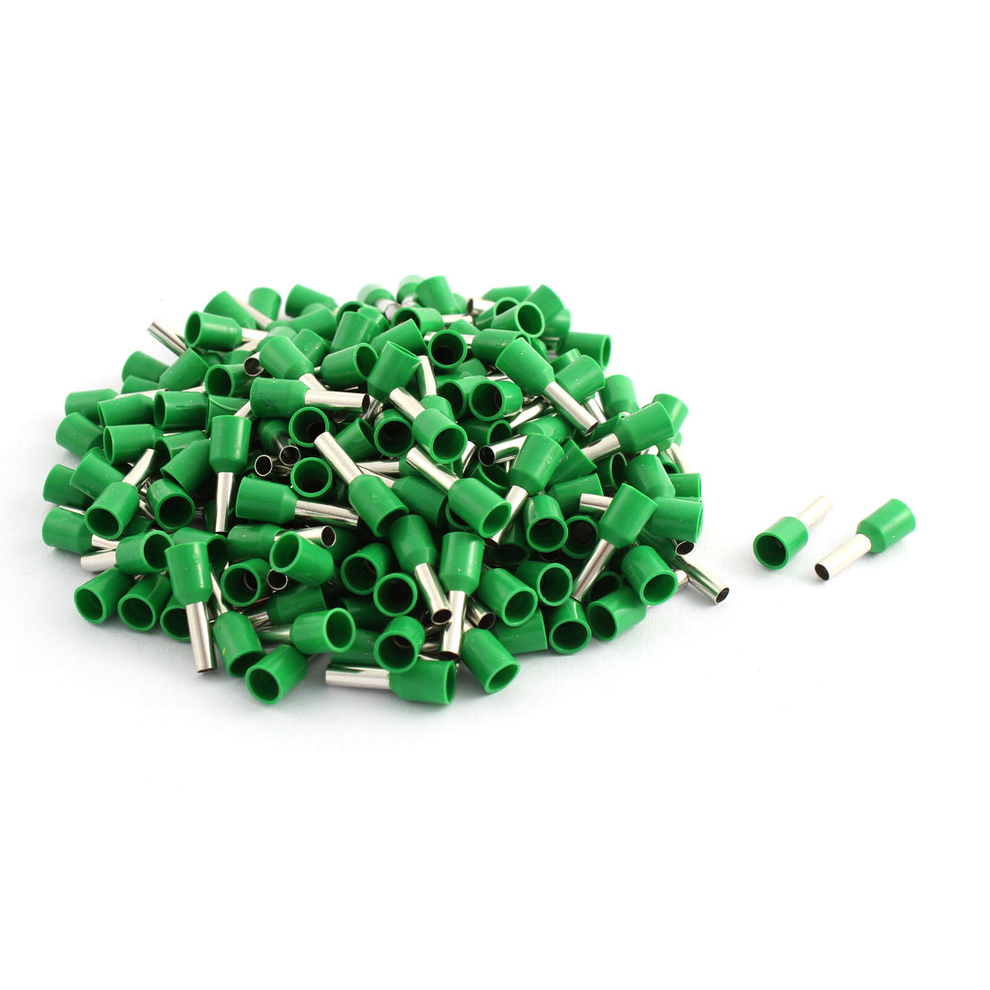 200 Pcs 2.5mm2 Crimp Wire End Terminal Insulated Bootlace Ferrule Connector Green