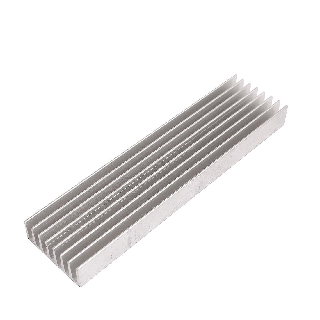 Aluminum 110mm x 18mm x 10mm Heat Sink Heatsink for LED Power IC Transistor
