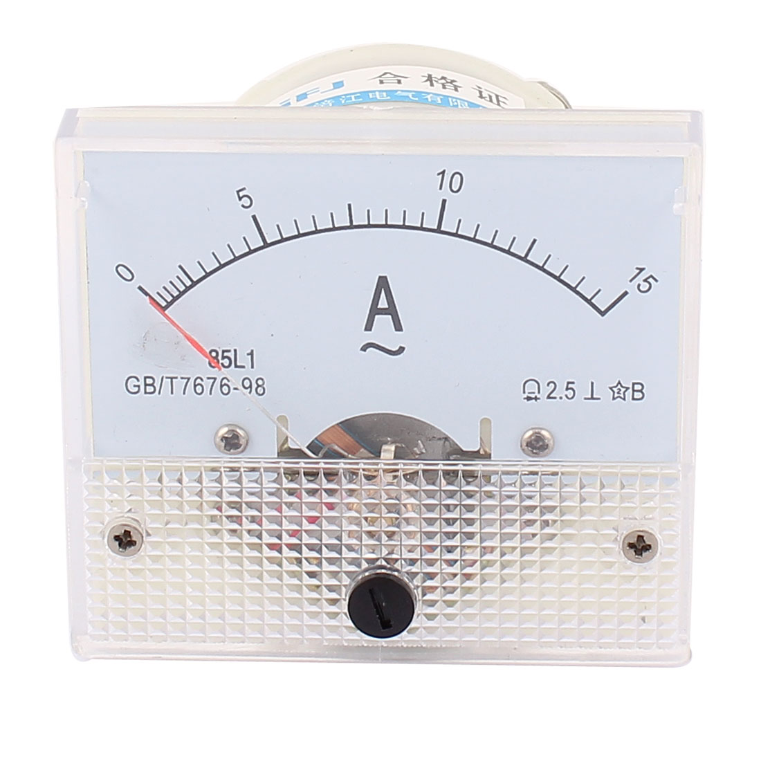 AC 0-15A Analog Ammeter Analogue Panel Ampmeter Current Meter Gauge