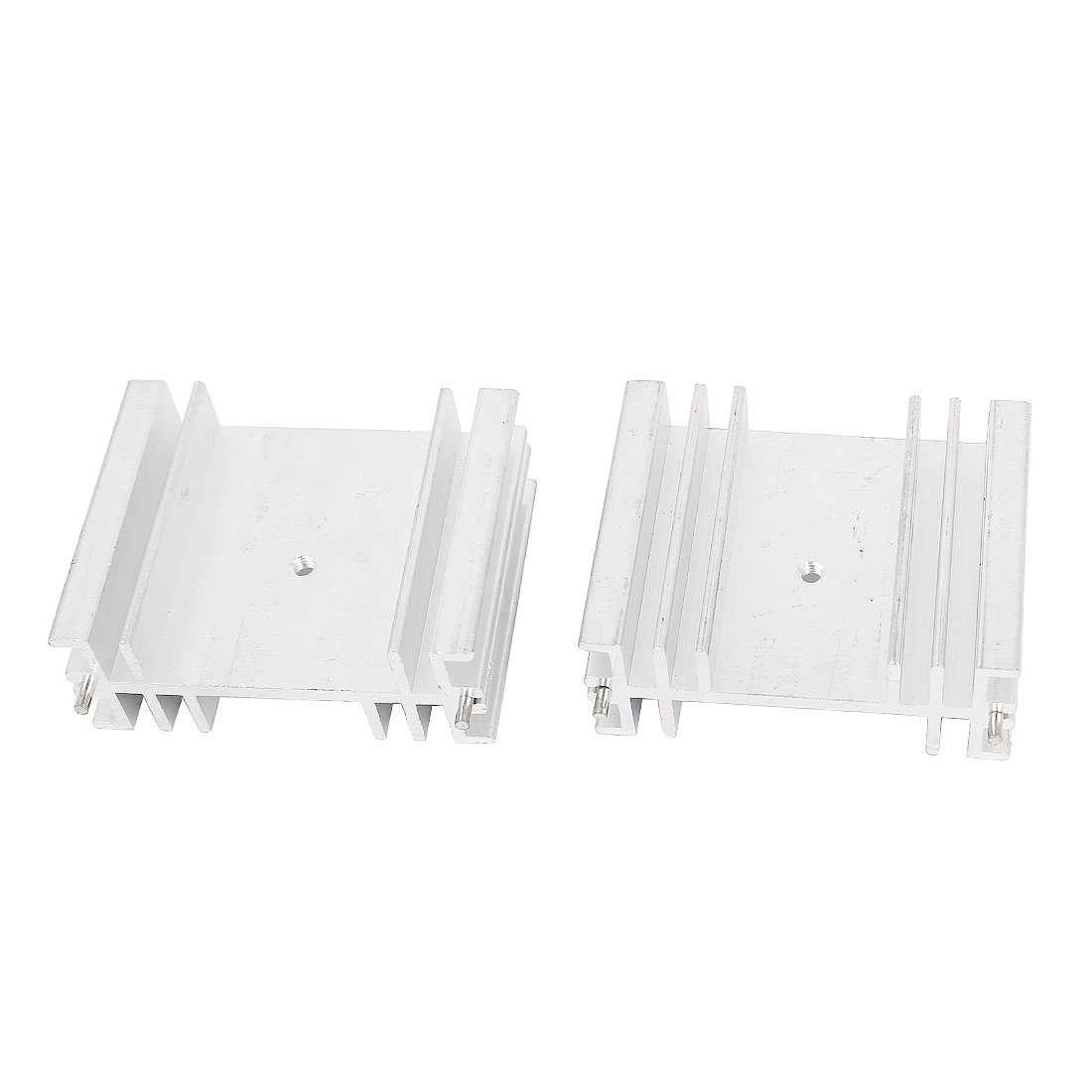 2PCS 50mmx40mmx20mm Aluminum Heat Sink Heatsink for LED Power IC Transistor
