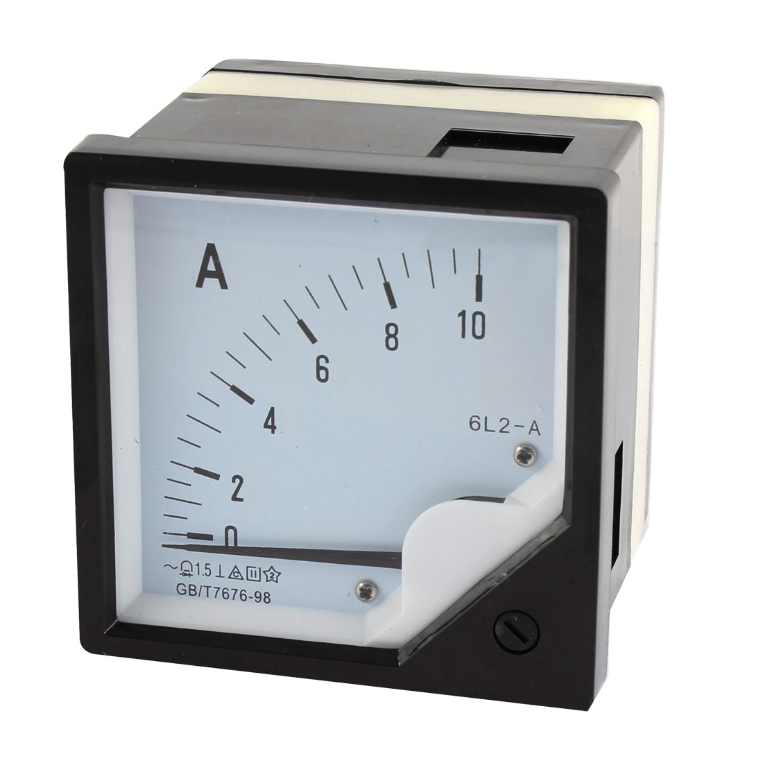 Class 1.5 AC 0-10A Ammeter Current Panel Meter Analogue Analog Black