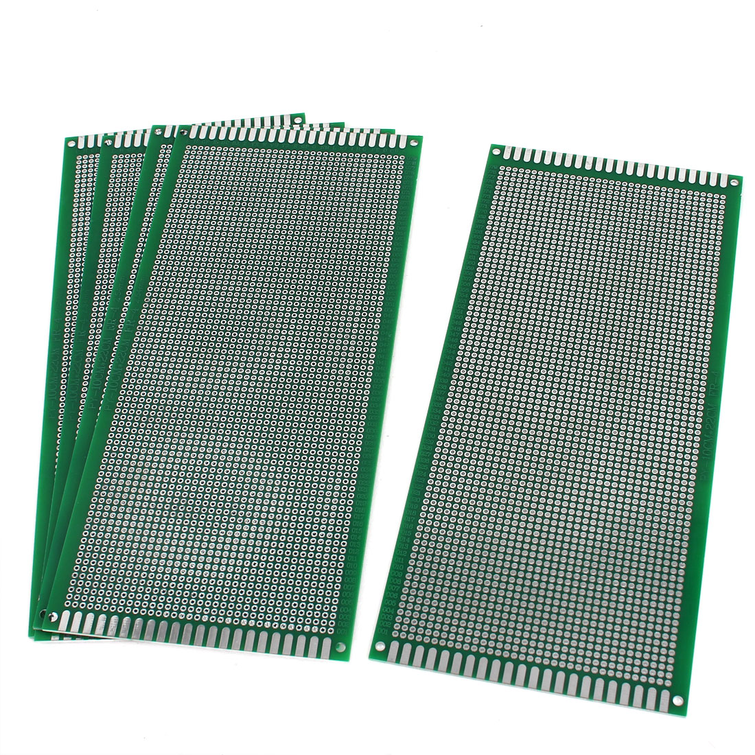 5pcs 10cm x 22cm Rectangle Double Sided Universal DIY Prototyping Paper PCB Print Circuit Board
