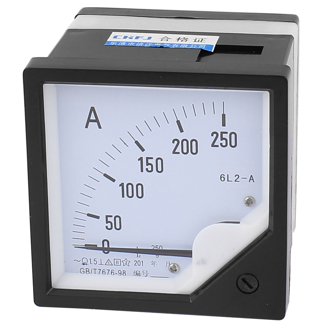 AC 0-250A Analog Ammeter Analogue Panel Ampmeter Current Meter Gauge