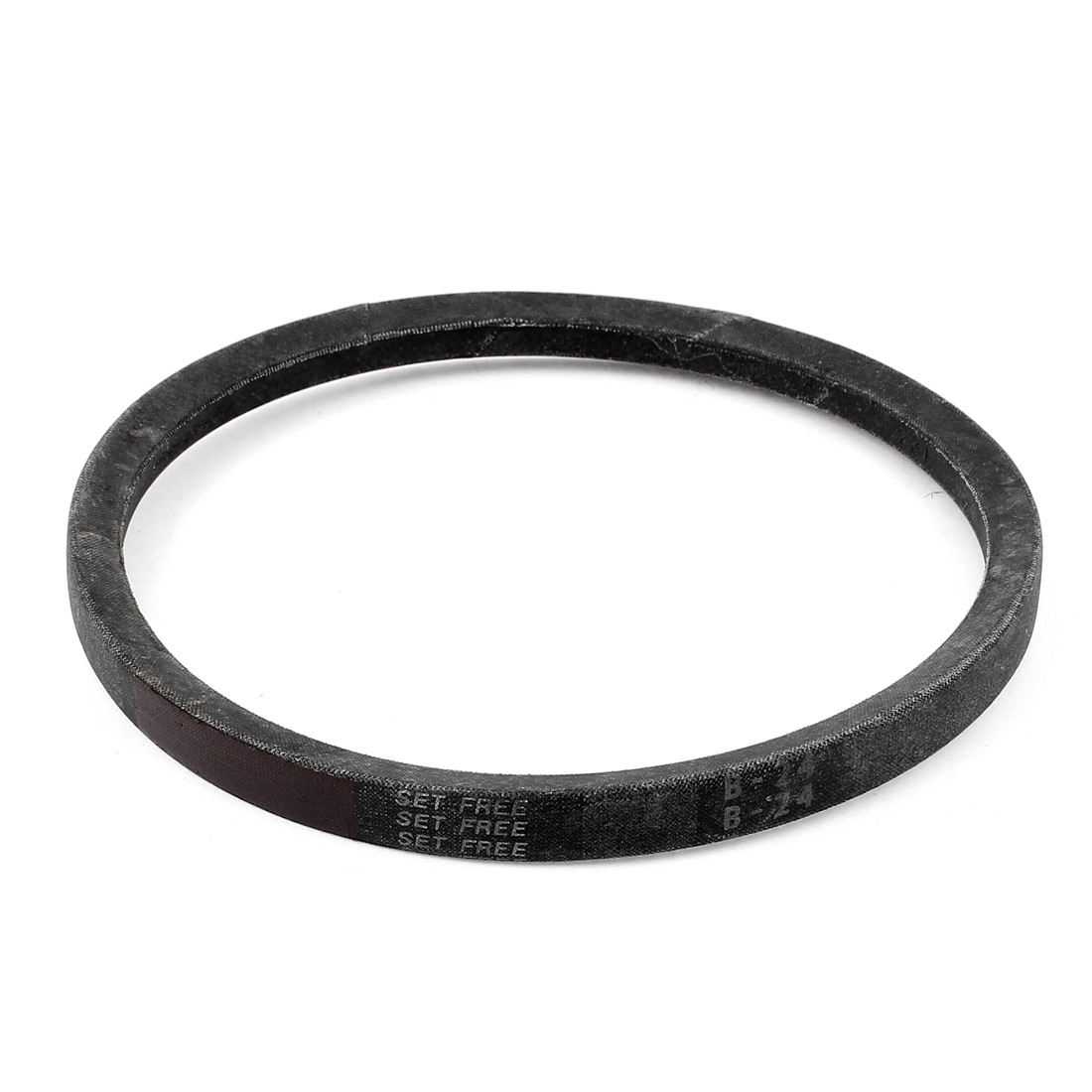 "Industrial Lawn Mower Transmission V Belt B24 5/8"" x 24"" Black"