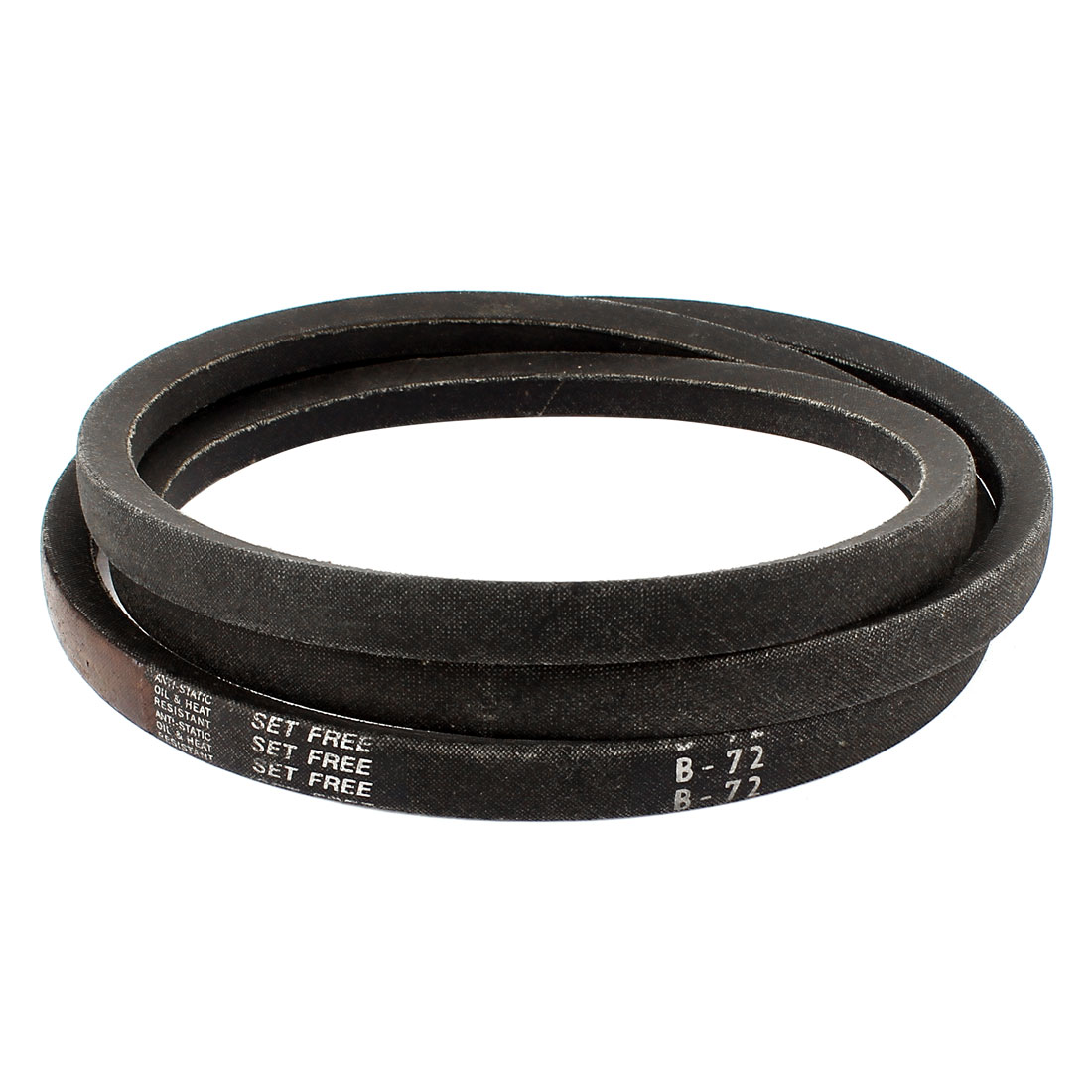 "Industrial Power Drive Rubber V Belt B Type B72 5/8"" x 72"" Black"
