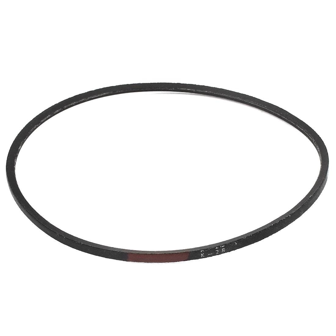 Machinery Drive Band Rubber K Type K28 V Belt Black