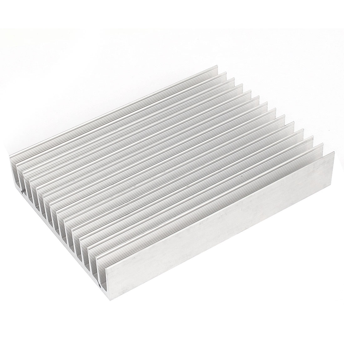 150mx110mx25mm Aluminum Rectangle Heat Diffuse Cooling Fin Heatsink