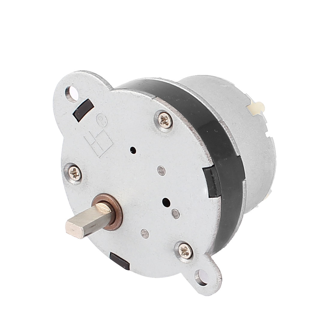 DC 6V 80RPM 10mm Shaft Length Speed Reduction Geared Electric Motor