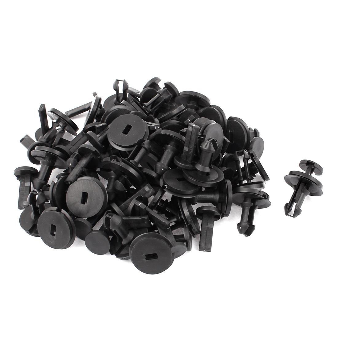 40Pcs 12mm Hole 29mm Head Push-Type Bumper Retainer Clip for Car