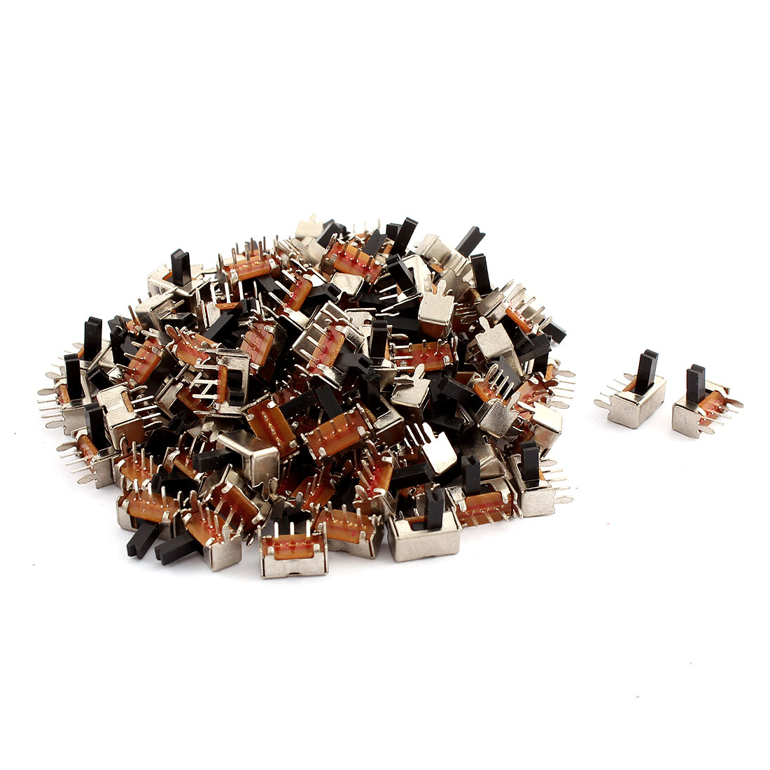 120pcs Mini Slide Switch SPDT 2 Tap Position 5mm Handle