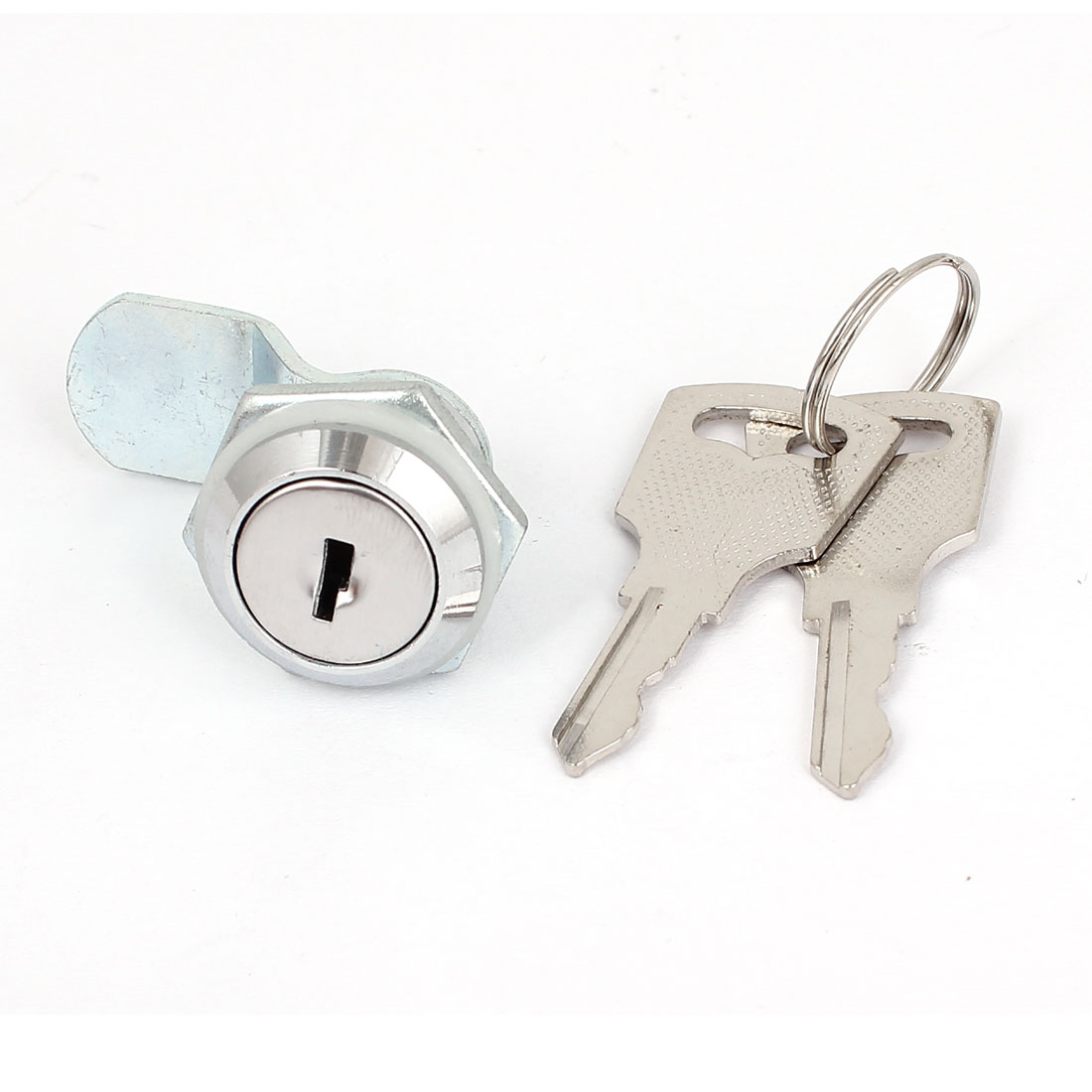 16mm Thread Cabinet Mailbox Door Cupboard Locker Cam Lock Keyed Alike w 2 Keys