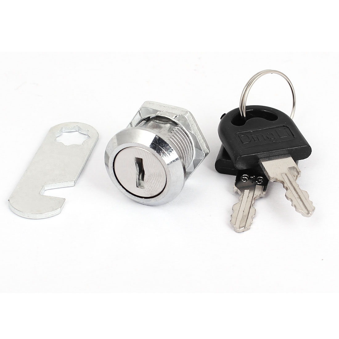 Cabinet Mailbox Cupboard Drawer Cam Chest Lock Cylinder Camlock w 2 Keys