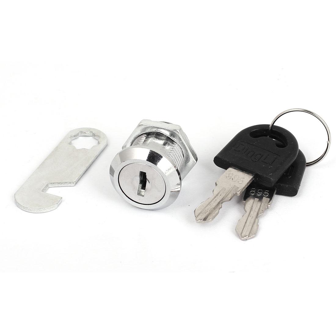File Cabinet Shop Mailbox Drawer Cupboard Security Cam Chest Lock Camlock w 2 Keys
