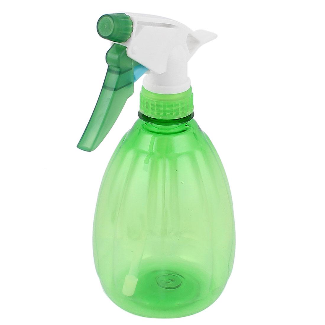 Plastic Nozzle Head Water Sprayer Trigger Spray Bottle Green 500ml